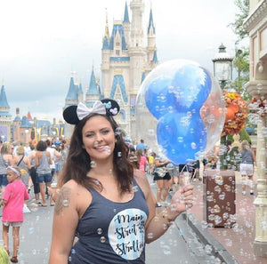 Main Street Strollin' Mickey Balloon Disney Tank Top