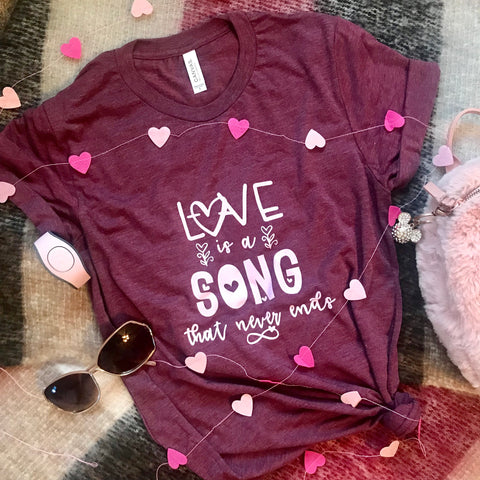 Love is a Song Bambi Vintage Triblend T-Shirt