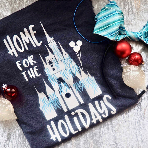 Home for the Holidays Disney Christmas Unisex T-shirt