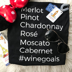 Wine Lovers T-Shirt #WineGoals