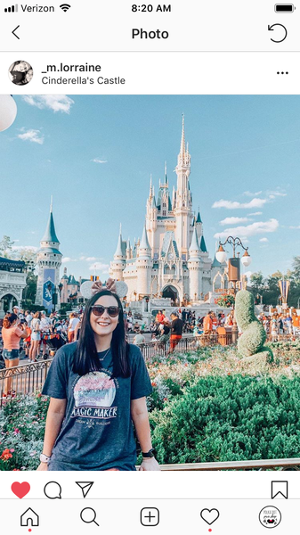 Dream Builders Magic Kingdom T-Shirt, Walt Disney World Disney Magic Maker T-shirt