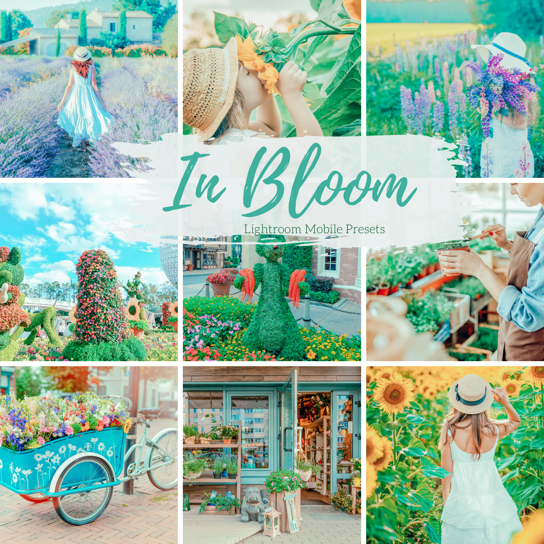 5 Lightroom Presets Spring In Bloom Home and Lifestyle Mobile Lightroom Presets Instagram Presets Lifestyle Presets