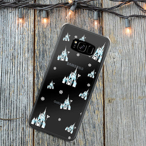 Cinderella Castle Dreamlights Walt Disney World Samsung Phone Case Galaxy S7 Edge S8 S8+