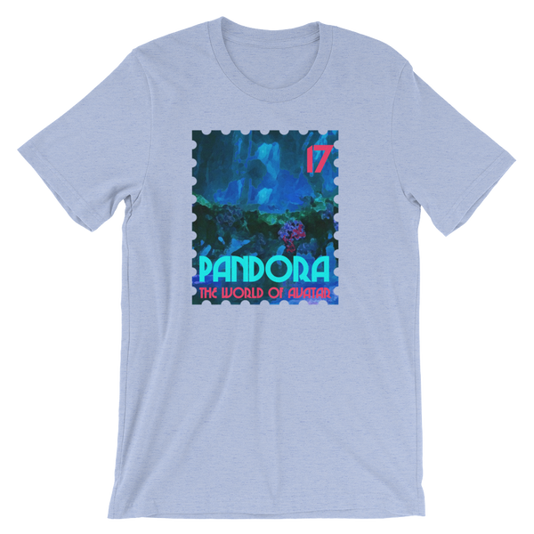 Pandora World of Avatar Greeting Stamp Unisex Tee Adult Tshirt