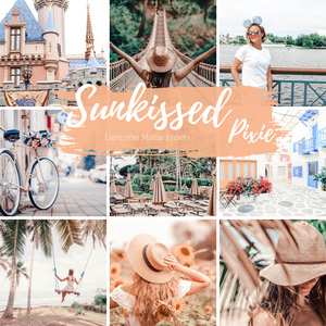 Sunkissed Warm Peach Light Lightroom Mobile Preset, Travel Blogger Presets, Lifestyle Presets, Fashion Instagram Presets