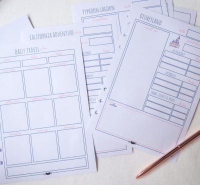 Disney Planner DELUXE Disney Vacation  Planner Printable