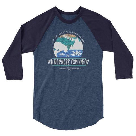Dream Builders Animal Kingdom Raglan Walt Disney World Wilderness Explorer Disney Raglan
