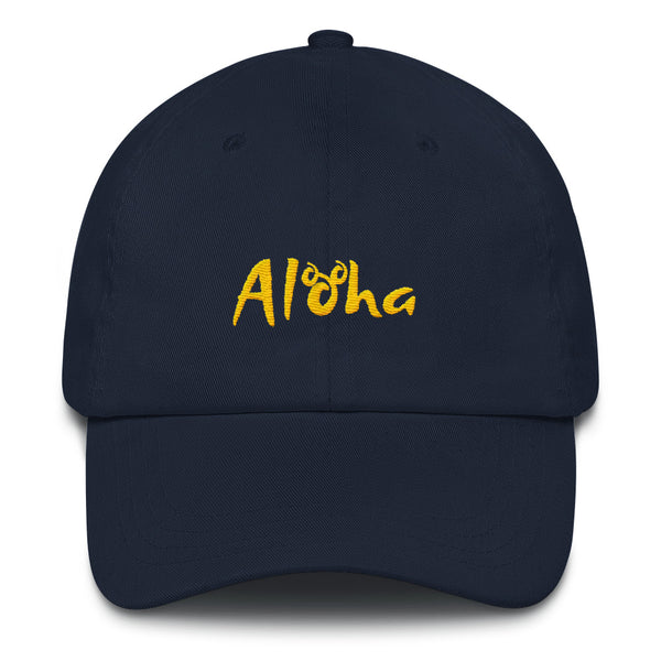 Aloha Hidden Mickey Aulani Disney Vacation Beach Dad hat