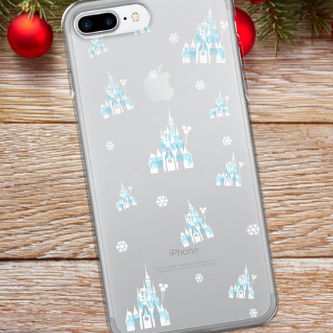 Christmas Castle Disney Christmas iPhone Case Dreamlights