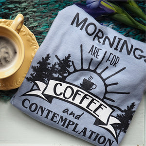 Stranger Things Coffee and Contemplation Unisex T-Shirt