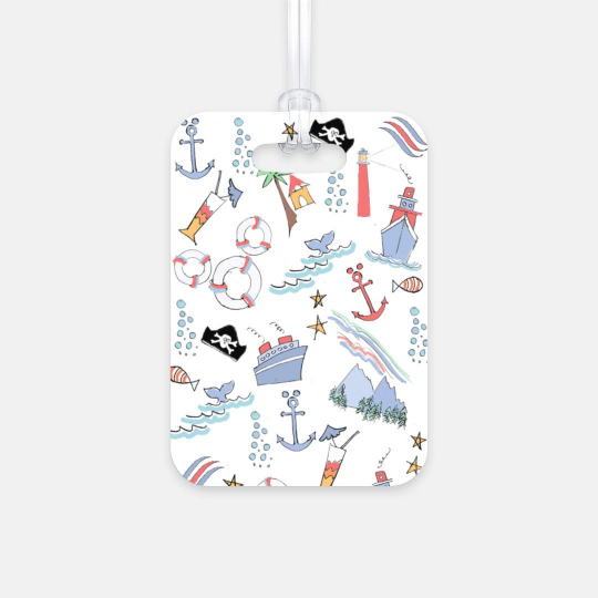 Disney Cruise Line Sail Away With Me Luggage Tag