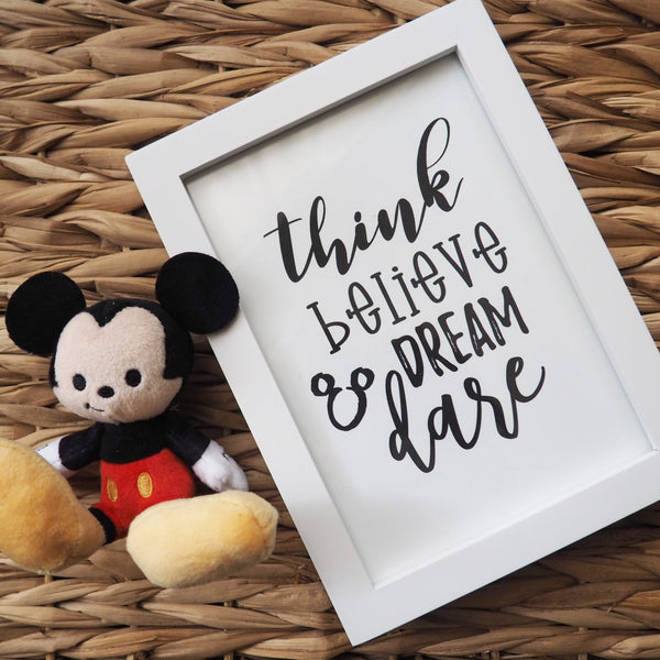 Walt Disney Quote Disney Printable Wall Art Print