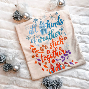 Frozen Christmas T-Shirt, Sisters, Sisters White Christmas Shirt