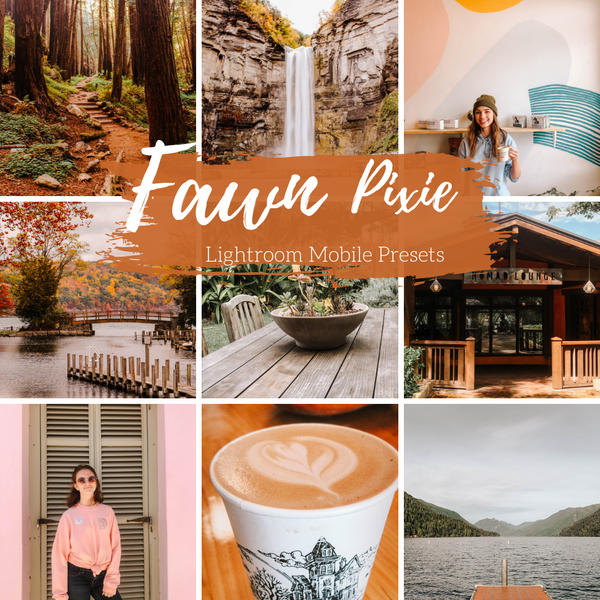 Fawn Autumn Woodsy Lightroom Mobile Presets, Fall Lifestyle Presets