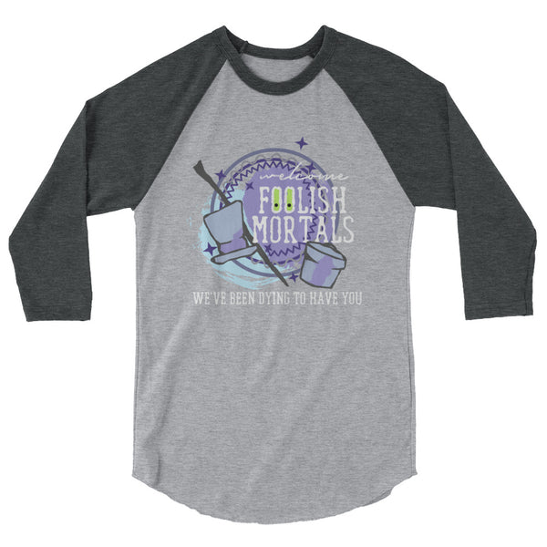 Hatbox Ghost Haunted Mansion Unisex Raglan