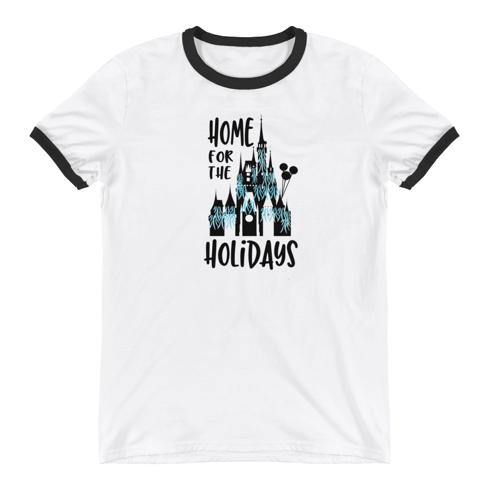 Home for the Holidays Ringer T-Shirt