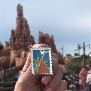 Disney Mountains Big Thunder Mountain Railroad Hard Enamel Pin