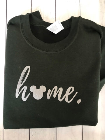 Mickey Disney Home Sweatshirt READY TO SHIP