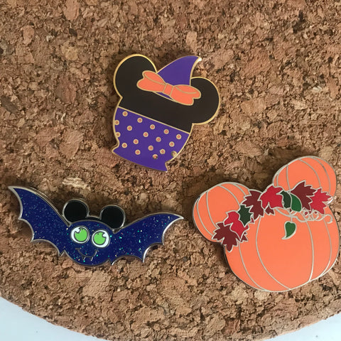 Fall Hard Enamel Pin, Disney Fall Pin Bundle, Mickey Pumpkin Pin, Disney Snacks Pin, Hard Enamel Pins