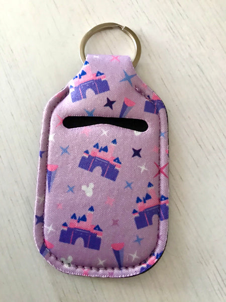 Hand Sanitizer Holder KeyChain Santizer Holder Keychain
