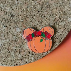 Halloween Mickey Pumpkin Pin Disney Fall Hard Enamel Disneyland Mickey's Halloween Party Pin
