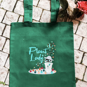 Plant Lady EVE Disney Wall-E Inspired Reusable Tote