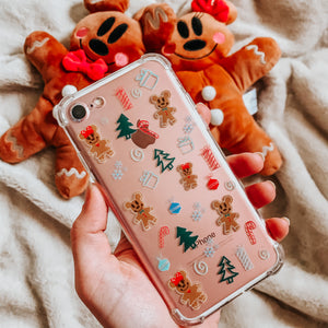 Gingerbread Mickey Holiday Christmas iPhone Case
