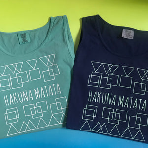 Hakuna Matata Disney Lion King No Worries Unisex Comfort Colors Tank Top