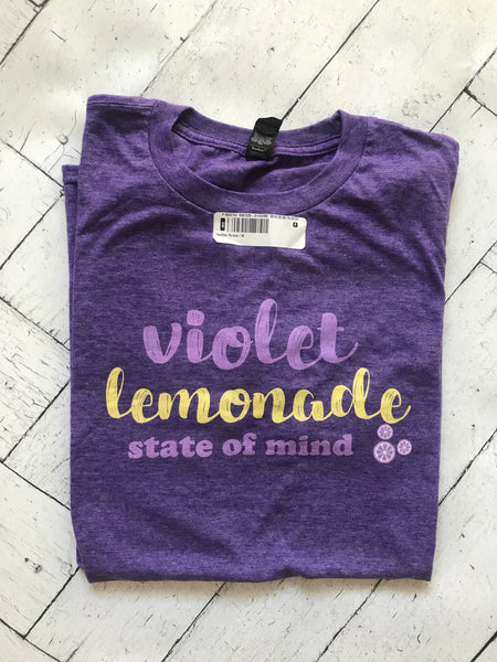 Violet Lemonade State of Mind Flower and Garden MEDIUM READY TO SHIP