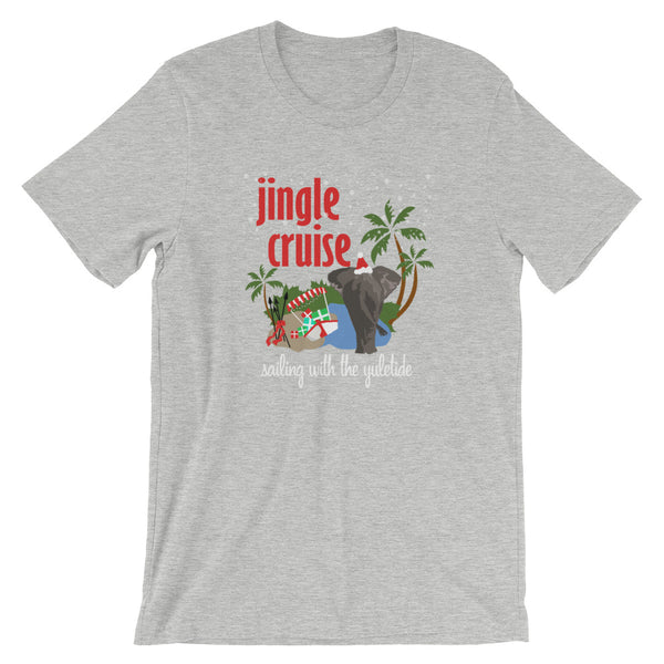 Jingle Cruise Elephant T-Shirt, Disney Christmas Jungle Cruise