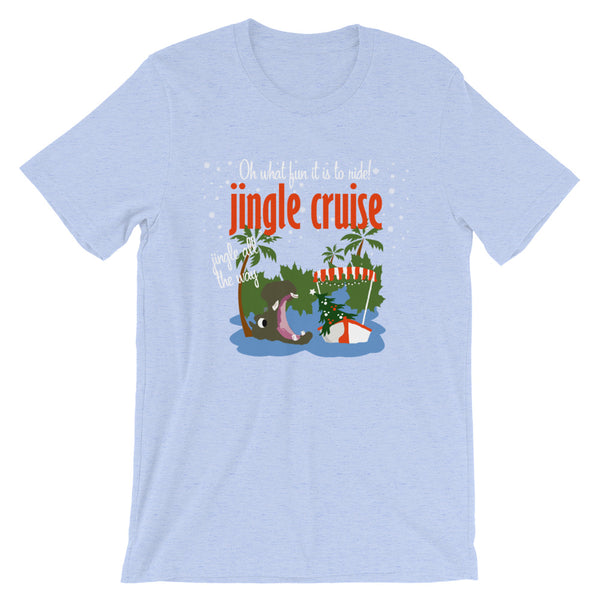 Jingle Cruise, Hippo, T-Shirt, Jungle Cruise  Disney Christmas