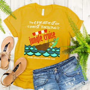 Jungle Cruise Cheapest and Most Thrilling Short-Sleeve Unisex T-Shirt