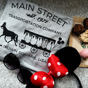 Main Street Trolley 1971 Walt Disney World