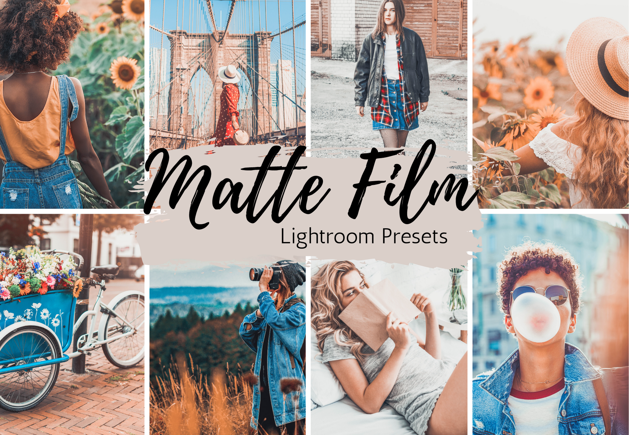 Matte Film 90s aesthetic 5 Lightroom Mobile Presets