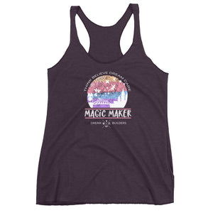 Dream Builders Magic Kingdom Tank Top Walt Disney World Magic Maker Disney Tank Top