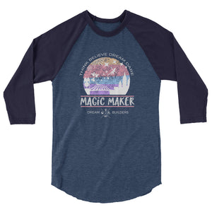 Dream Builders Magic Kingdom Raglan Walt Disney World Magic Maker Disney Raglan