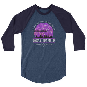 Dream Builders EPCOT Raglan Walt Disney World World Traveler Disney Raglan