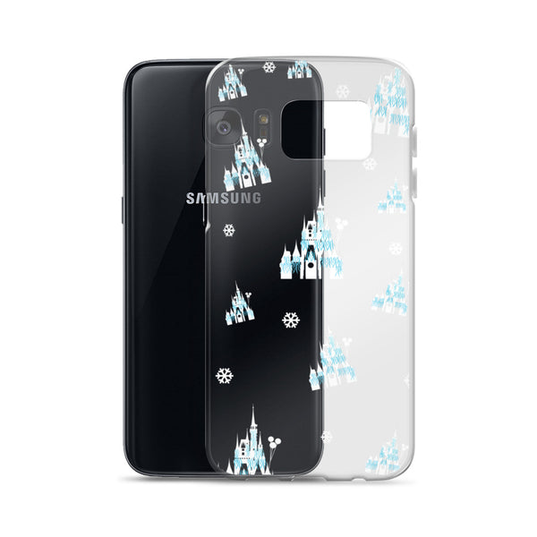 Christmas Castle Disney Christmas Samsung Case Dreamlights