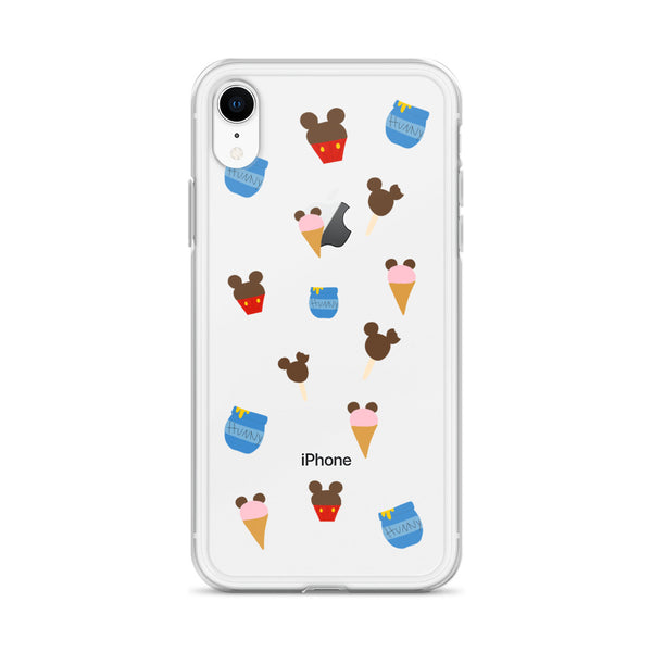 Winnie the Pooh Disney Snacks iPhone Case Disney World Disneyland iPhone Case