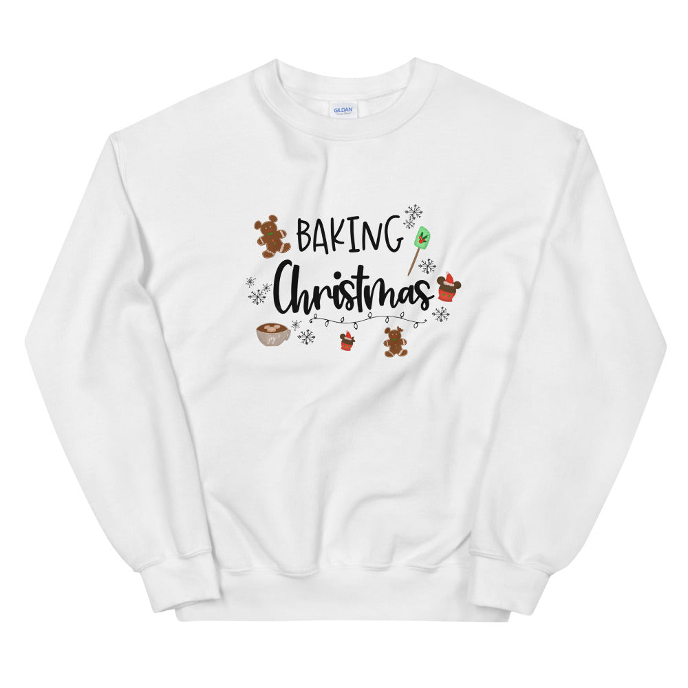 Baking Christmas Sweatshirt Nightmare Before Christmas Shirt