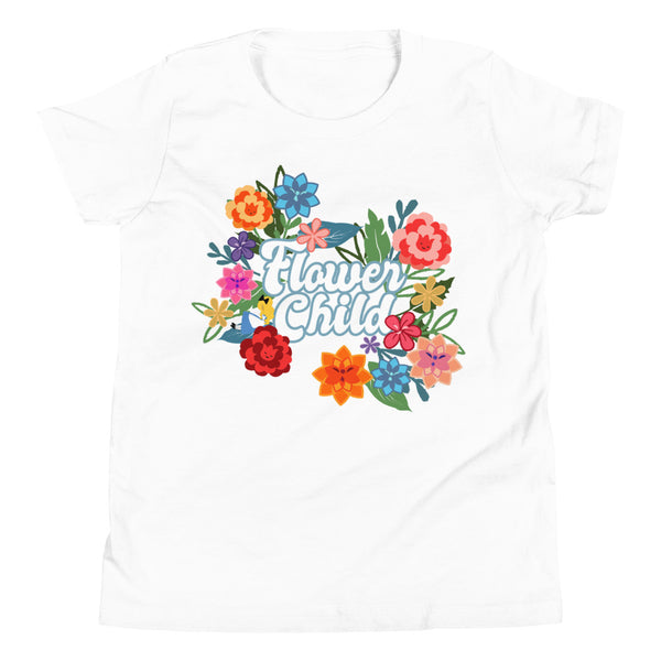 Flower Child Kids T-Shirt Alice Flower and Garden Disney Kids T-shirt
