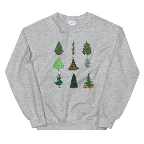 Mickey Christmas Tree Unisex Sweatshirt