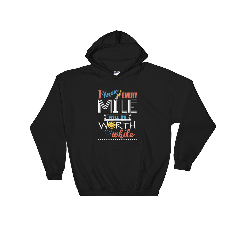 Hercules Disney Hoodie Sweatshirt. Run Disney, Every Mile is Worth My While.