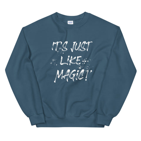 Harry Potter Sweatshirt It's Just Like Magic Wizarding World of Harry Potter Sweatshirt White