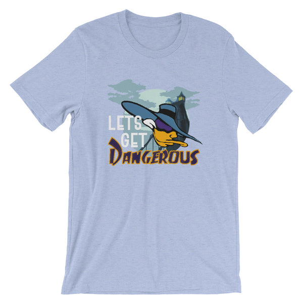 Darkwing Duck Lets Get Dangerous Cartoon Comic Short-Sleeve Unisex T-Shirt