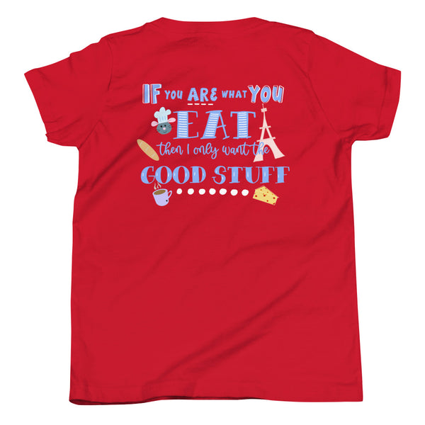 Ratatouille Kids T-Shirt Epcot Food and Wine Festival Remy Ratatouille Disney Youth Short Sleeve T-Shirt