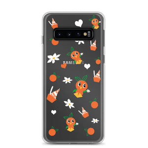 Orange Bird Samsung Phone Case Citrus Swirl Disney World Disneyland Samsung Phone Case
