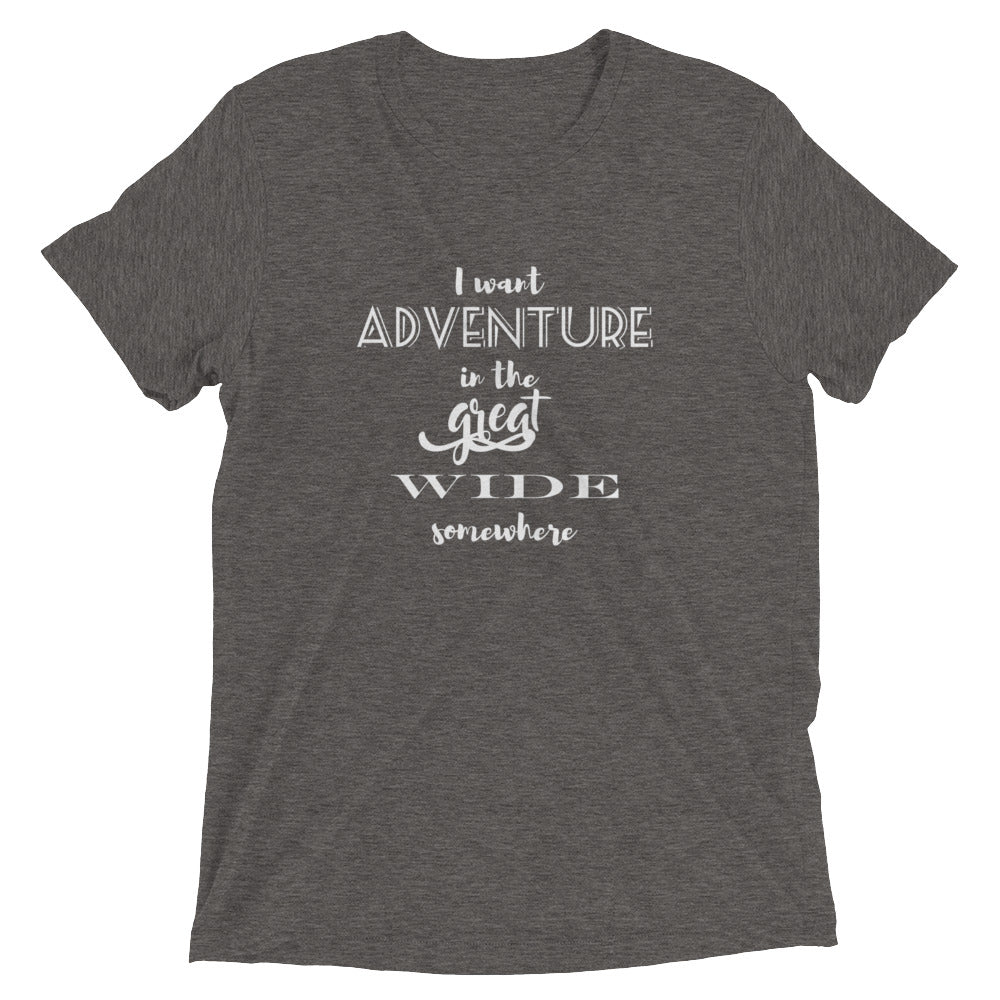 Adventure Beauty and the Beast Vintage Triblend T-Shirt