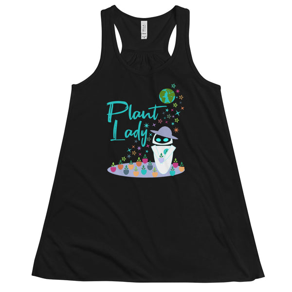 Plant Lady Flowy Tank EVE Disney Wall-E Inspired Short-Sleeve Unisex T-Shirt Women's Flowy Tank Top