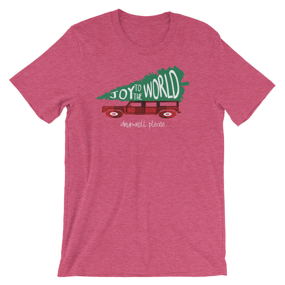 joy to the world t shirt griswold family christmas inspired christmas shirt
